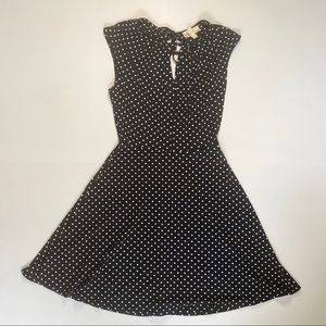 Black BeBop Polka Dot Dress